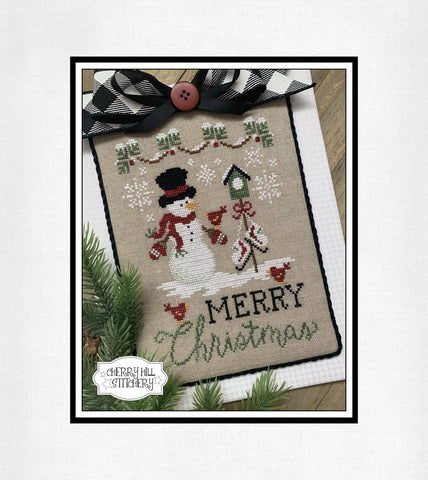 PDF ~ Cherry Hill Stitchery ~ Merry Christmas PDF