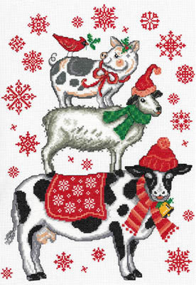 Imaginating ~ Holiday Farm Animals
