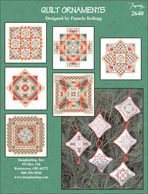 Imaginating ~ Quilt Ornaments