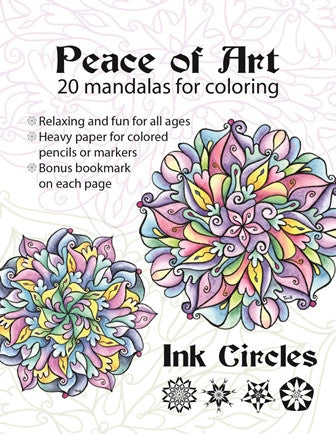 Ink Circles ~ Peace of Art Coloring Book