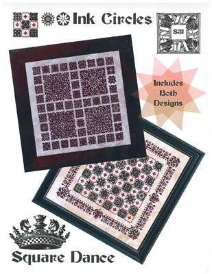 Ink Circles ~ Square Dance (2 designs)