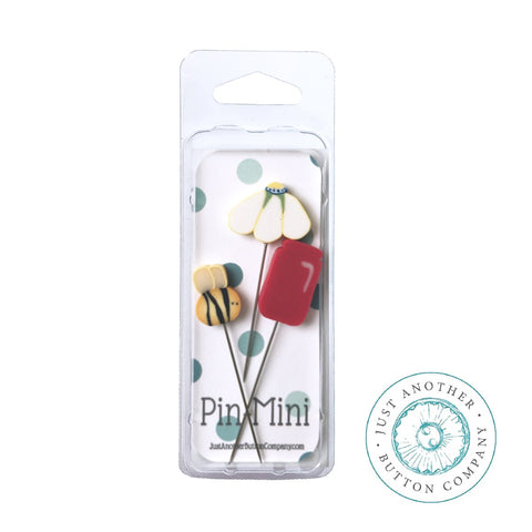 Hands On Design ~ Chalk Full:  Bloom - JABC Daisy Jar Mini Pins
