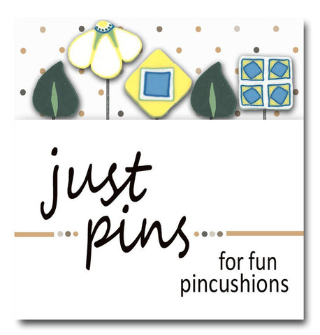 JABC/Hands On ~ Just Pins ~ Cathy's Garden