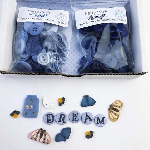 JABC ~ Button Lover's Club: DREAM Words With Buttons Monthly Box  **(Very limited # available!)