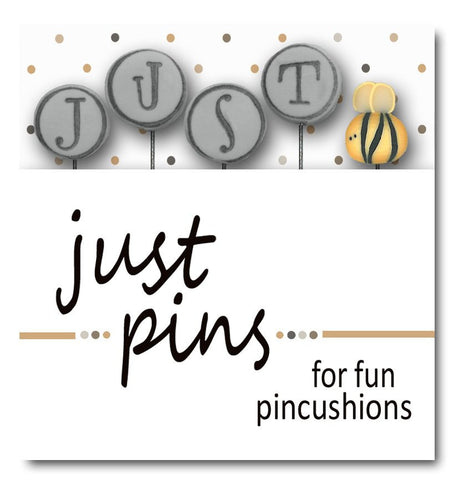 JABC/Hands On Design ~ Just Bee (Gray) Just Pins