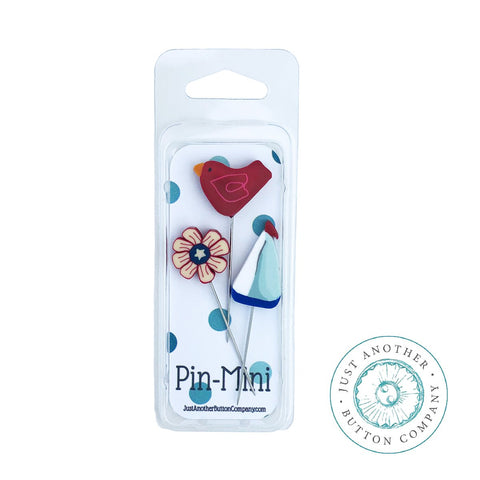 JABC ~ Mini Pins - Sail Away **Limited Edition