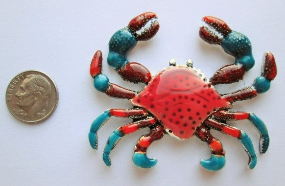 Needle Minder ~ Large Red Crab
