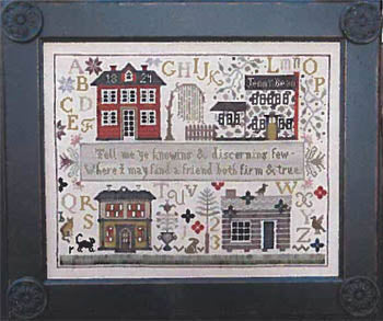 Shakespeare's Peddler ~ Jenny Bean's Friendship Sampler