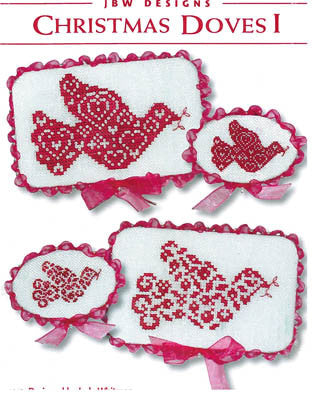 JBW Designs ~ Christmas Doves I