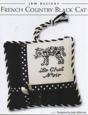 JBW Designs ~ French Country Black Cat