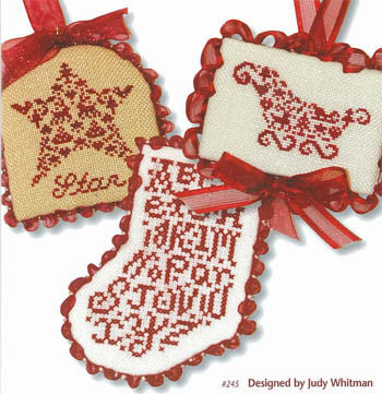 JBW Designs ~ French Country Ornaments
