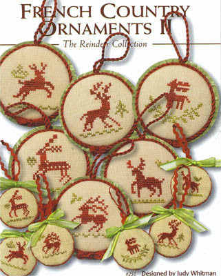 JBW Designs ~ French Country Reindeer Ornaments II