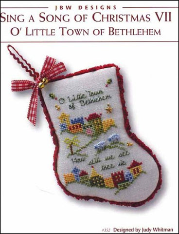 JBW Designs ~ O' Little Town Of Bethlehem - Sing A Song Of Christmas VII