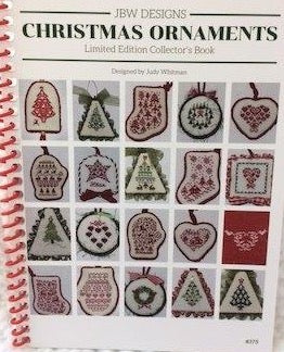 JBW Designs ~ Christmas Ornaments ~ Limited Edition Collector's Book with 20 designs!
