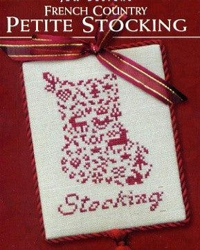 JBW Designs ~ French Country Petite Stocking