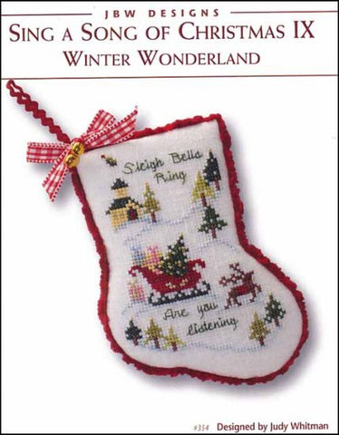 JBW Designs ~ Winter Wonderland - Sing A Song Of Christmas IX