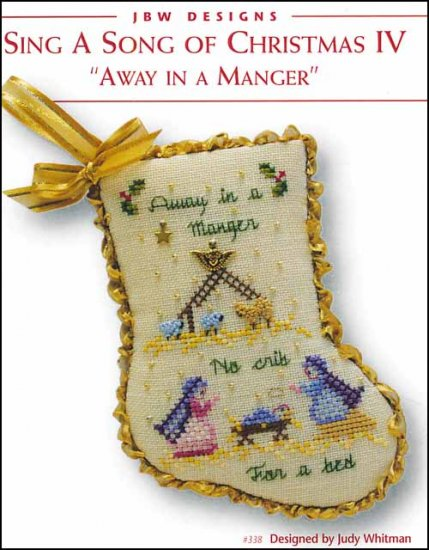 JBW Designs ~ Away In A Manger - Sing A Song Of Christmas IV