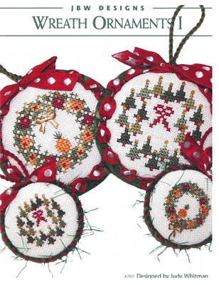 JBW Designs ~ Wreath Ornaments I