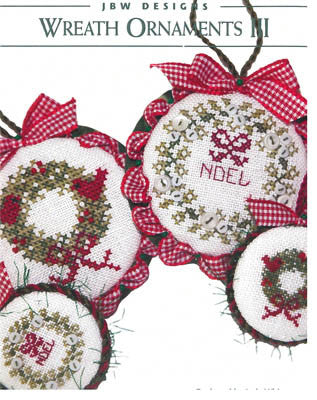 JBW Designs ~ Wreath Ornaments III
