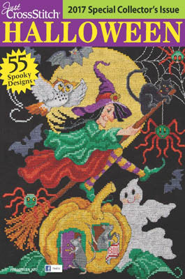 Just Cross Stitch ~  2017 Halloween Issue