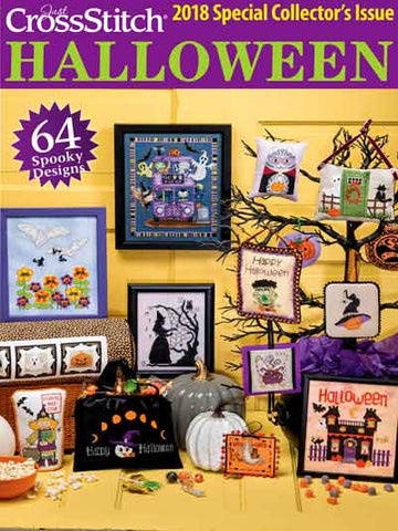 Just Cross Stitch ~  2018 Halloween Issue