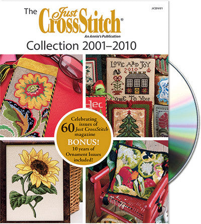 Just Cross Stitch ~  DVD 2001-2010