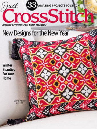 Just Cross Stitch ~ February 2015 Magazine