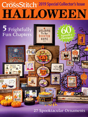 Just Cross Stitch ~  2019 Halloween Issue