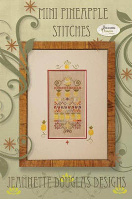 Jeanette Douglas Designs ~ Mini Pineapple Stitches w/charm