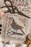 Jeanette Douglas Designs ~ Sew Together - #3 Scissors & Threads