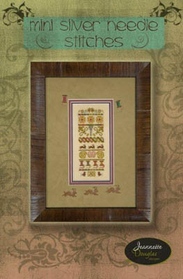 Jeanette Douglas Designs ~ Mini Silver Needle Stitches w/embs.
