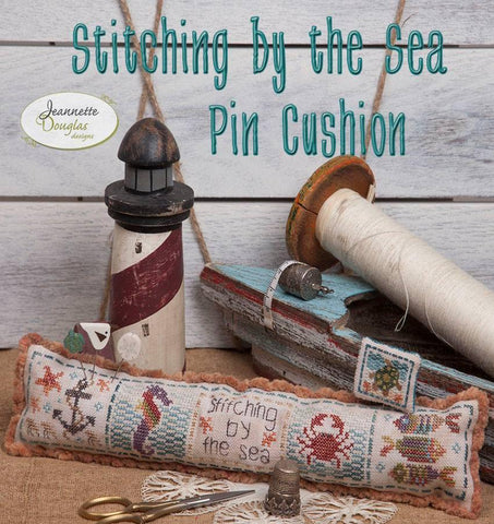 Jeanette Douglas Designs ~ Stitching by the Sea