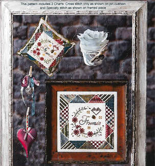 Jeanette Douglas Designs ~ Potpourri of Stitches