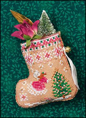 Just Nan ~ Gingerbread Mouse Fairy Stocking