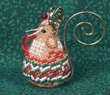 Just Nan ~ Gingerbread Reindeer Mouse w/embs. ~ Limited Edition