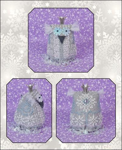 Just Nan ~ Little Snow Princess w/embs.  Limited Edition