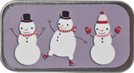 Just Nan ~ Snow Friends Mini Slide