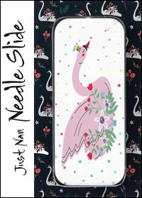 Just Nan ~ Swan Queen Needle Slide ~ LIMITED # AVAILABLE!!!