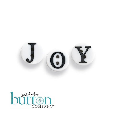 JABC/Hands On Design ~ Holly Jolly Farm Buttons JOY