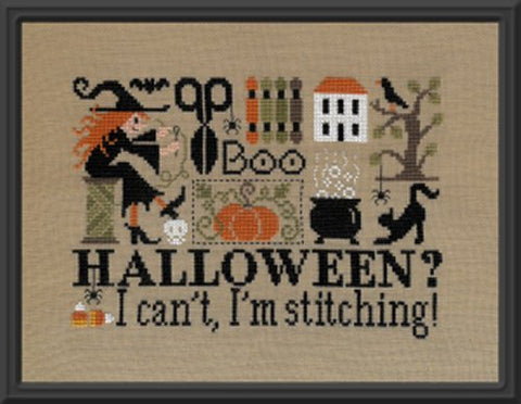 Jardin Prive' ~ Halloween? I Can't, I'm Stitching!