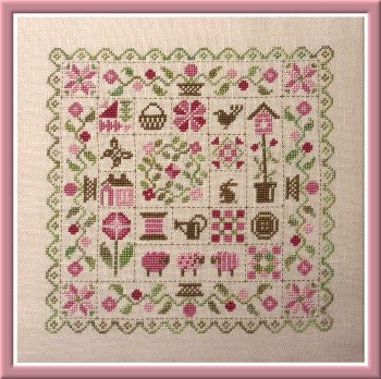 Jardin Prive' ~ Patchwork Printemps