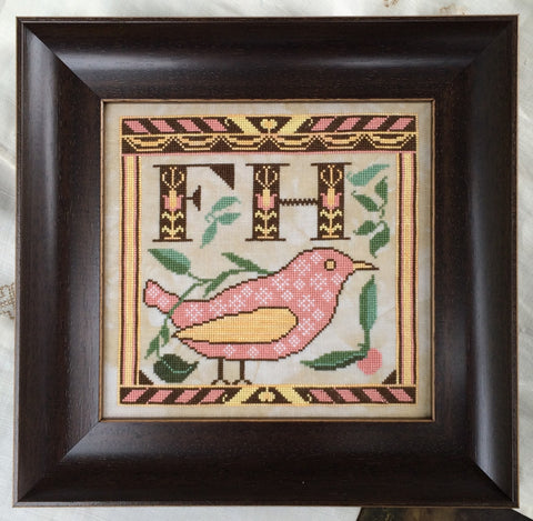 Kathy Barrick ~ Early Fraktur Drawing