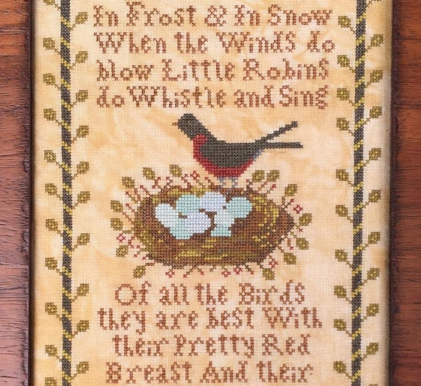 Kathy Barrick ~ Little Robins