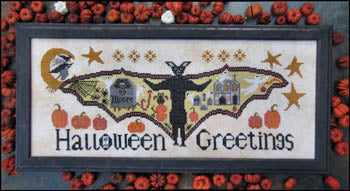 Kathy Barrick ~ Halloween Greetings