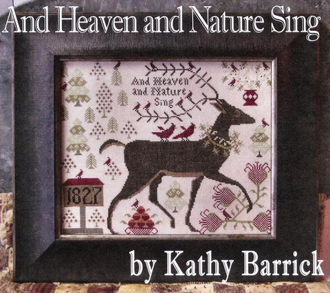 Kathy Barrick ~ And Heaven and Nature Sing