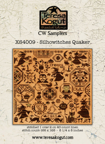 Teresa Kogut ~ SilhoWitches Quaker (booklet)