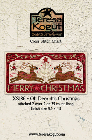 Teresa Kogut ~ Oh Deer, It's Christmas