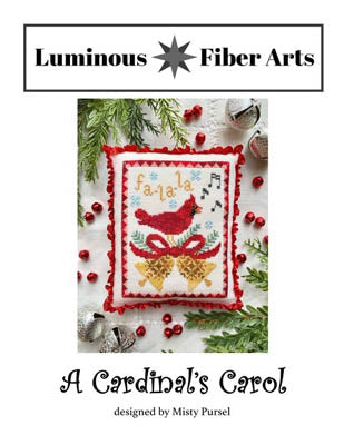 Luminous Fiber Arts ~ Cardinal's Carol