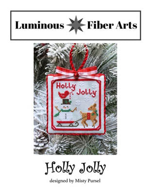 Luminous Fiber Arts ~ Holly Jolly