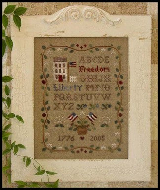 Little House Needleworks ~ Americana Sampling